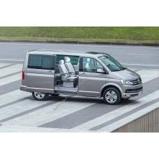 Силиконовая тонировка на статике для Volkswagen Multivan 2015-н.в.