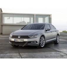 Силиконовая тонировка на статике для Volkswagen Passat B8 2015-н.в.