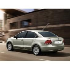 Силиконовая тонировка на статике для Volkswagen Polo 2008-2020 седан