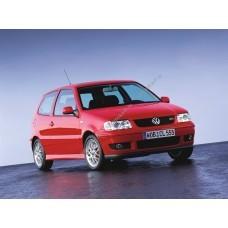 Силиконовая тонировка на статике для Volkswagen Polo 3 двери, 3 поколение, Mk3 (1994-1999)