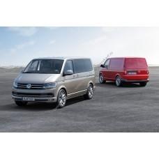 Силиконовая тонировка на статике для Volkswagen Transporter 2015-н.в.